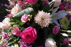 Begräbnis Sarggesteck/Bukett - Funeral coffin/bouquet dekoration #5