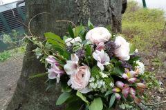 Begräbnis Sarggesteck/Bukett - Funeral coffin/bouquet dekoration #4