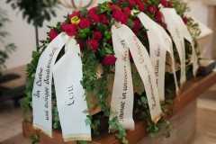 Begräbnis Sarggesteck/Bukett - Funeral coffin/bouquet dekoration #1