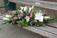 Begräbnis Sarggesteck/Bukett - Funeral coffin/bouquet dekoration #3