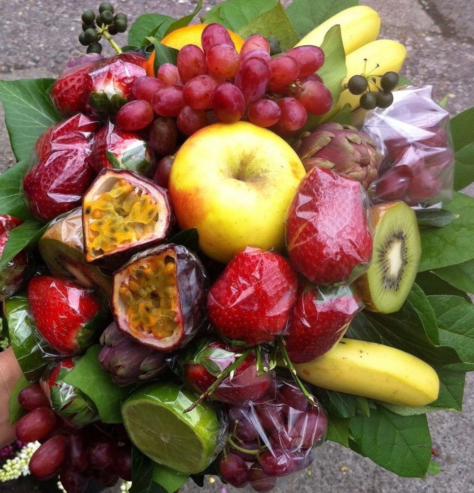 ObstGemüsestrauss-fruitvegetable-bouquet #1