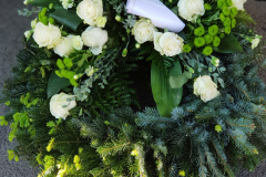 Begräbnis Kopfkränze - Funeral Headwreath #3