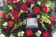 Begräbnis Kopfkränze - Funeral Headwreath #2